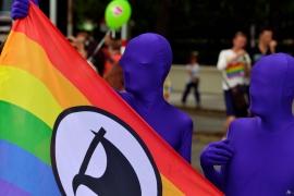Regenbogenparade 2014